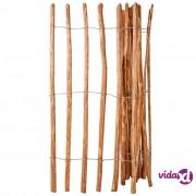 vidaXL Drvena Ograda Drvo Lijeske 150x250 cm