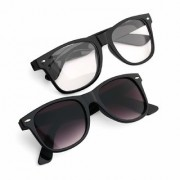 Ivonne Wayfarer Stylish Unisex Sunglasses Combo (Latest Goggles)