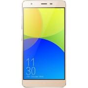 "Telefon Mobil Elephone C1, Procesor Quad-Core 1.2GHz, JDI LTPS Capacitive Touchscreen 5.5"", 2GB RAM, 16GB Flash, Wi-Fi, 4G, Dual Sim, Android (Auriu)"