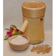 Moara de cereale electrica pentru macinat cu pietre, Arabella