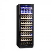 Klarstein Vinovilla Onyx Grande, голям хладилник за вино, 433 л, 165 бутилки, черно (HEA8-Vino-OG)
