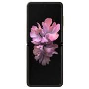 """Telefon Mobil Samsung Galaxy Z Flip, Procesor Snapdragon 855+ Octa-Core 2.95GHz / 1.78GHz, Dynamic AMOLED 6.7"""", 8GB RAM, 256GB Flash, Camera Duala 12 + 12MP, Wi-Fi, 4G, Dual sim, Android (Auriu)"""