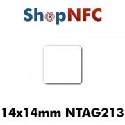 Tag NFC NTAG213 14x14mm adesivi