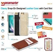 Promate Slit-i6 Classy Snap-On leather case with