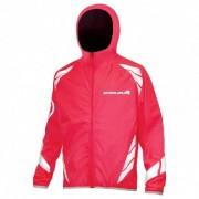 Endura - Kid's Luminite Jacket II - Veste de vélo taille 11/12 Years, rouge/rose