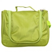 Bagaholics Multifunction Beauty Travel Multipurpose Cosmetic Bag Organizer Case Makeup Make up Wash Pouch Toiletry Bag (Green)