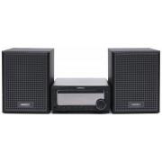 Micro Sistem Audio Horizon HAV-M7700, 50 W, Bluetooth, USB, Radio FM, AUX, Telecomanda (Negru)