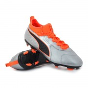 Puma one 3 lth fg / ag shocking orange uprising pack - Scarpe da cal