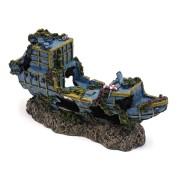 PENN PLAX Potopená loď 18x5x8cm