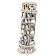 Panegy 3 D Italy Leaning Tower Of Pisa Wood Jigsaw Puzzle Diy Woodcraft Model Kit Toys