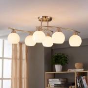 Lampenwelt.com Plafonnier de salle à manger Svean à 6 lampes - LAMPENWELT.com