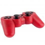 Dubbele schok III draadloze Controller Manette Sans Fil Double schok III voor Sony PS3 heeft trillingen actie (rood)