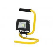 Proiector LED 10W Portabil pentru Lucru, Alimentare 220V, Lumina Alb Cald