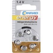 Baterii pentru aparate auditive ZA 312