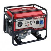Generator de curent monofazat Honda EM 5500 CXS2 , putere 5.5 kVA , pornire electrica 12 V