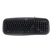 Tastatura GENIUS; model: KB-M200; layout: US; NEGRU; USB