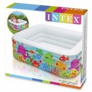 Intex Piscina gonflabila Aquarium 57471 159X159X50 cm