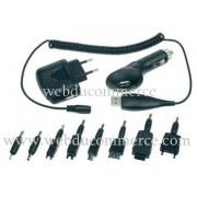 Chargeur USB 3-EN-1 avec 8 fiches
