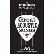 Wise Publications The Little Black Songbook: Great Acoustic Songs