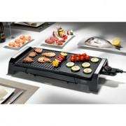 Caso 2830 Tischgrill BQ 2200 mit Grill- und Bratfläche