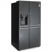 Refrigerador LG LS65SDT1 Duplex 22 pies Negro INVERTER