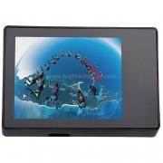ST-175 Ecouteur LCD TFT LCD de 2,0 pouces et boîtier étanche à l eau pour GoPro HERO4 / 3 + (Noir)