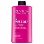 Revlon Professional Be Fabulous Normal/Thick C.R.E.A.M. Conditioner balsamo nutriente per l'idratazione dei capelli 750 ml