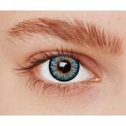 Vegaoo Kontaktlinser fantasi blå 3 toner vuxen One-size