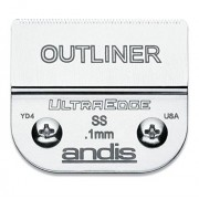 Andis Outliner Beard Trimmer UltraEdge Detachable Blade, Silver, Size 1/150 (64160)