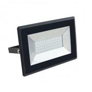 VTAC V-TAC VT-4051 Faro LED 50W E-Series super slim nero IP65 bianco freddo 6500K - SKU 5960