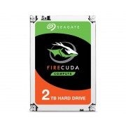 Seagate FireCuda ST2000DX002 disco duro interno Híbrido HDD 2000 GB Serial ATA III