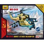 7403 Hot War: Mi-24v Hind Soviet Attack Helicopter