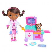 Just Play Mcstuffins Magic Talking Doc & Care Cart Toy Bank