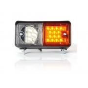 LED hátsó lámpa téglalap 12/24V JOBB