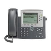Cisco Unified 7962G IP Phone - Refurbished - Wall Mountable, Desktop - Dark Grey