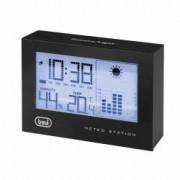 Statie meteo LED afisaj ora calendar higrometru functie alarma negru