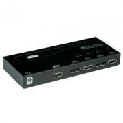 ROLINE 14.01.3574 :: Видео превключвател HDMI към DisplayPort 4-портов 1920x1080