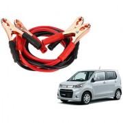 Auto Addict Premium Quality Car 500 Amp Heavy Duty Copper Core Tangle Battery Booster Cable 7.5 Ft For Maruti Suzuki WagonR Stingray