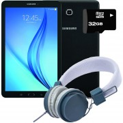 "Tablet Samsung Galaxy Tab E 9.6"" 16GB + KIT - Negro"