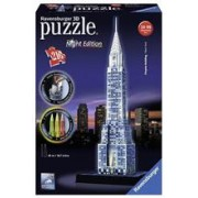 Puzzle 3D Chrysler Building Night Edition (216 Pcs)