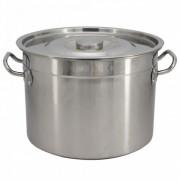 Казан с капак SAPIR SP 1211 B45S, 47 см, 42.5 литра, Неръждаема стомана