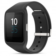 Ceas Smartwatch Sony 3 SWR50 Silicon Black