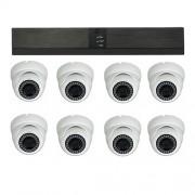 Övervakningssystem NVR-5008EZ-POE 4MP + 8 kameror