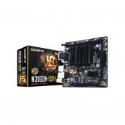 T. Madre Gigabyte GA-N3160N-D2H, Procesador integrado, Intel Celeron