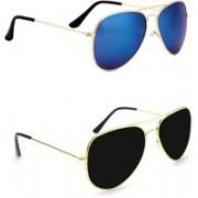 Sulit Aviator, Wayfarer, Cat-eye Sunglasses(Blue, Black)