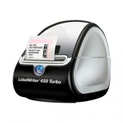 DYMO LabelWriter 450 Turbo - Etiketprinter thermisch papier Rol (6,2 cm) 600 x 300 dpi tot 71