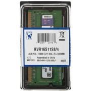 Kingston memorija (RAM) za prijenosno računalo SODIMM 4GB PC3-12800 (KVR16S11S8/4)