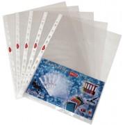 Folie protectie documente cristal A4 Daco 40 microni 100 buc/set