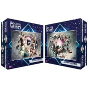 Doctor Who Doctors and Enemies Special 1000 Piece Jigsaw Puzzle Double Pack