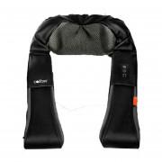Masajeador Cervical Espalda Caliber Relax Rodillos 220/12V - Negro